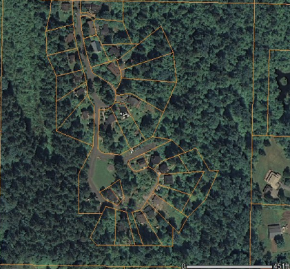Sharingwood Aerial Map